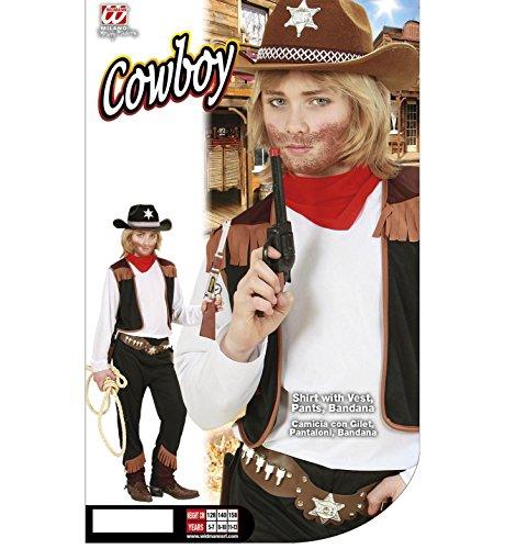 d105999c54543 ▷ Widmann 02596 - Disfraz de vaquero para niño (talla 128 ...