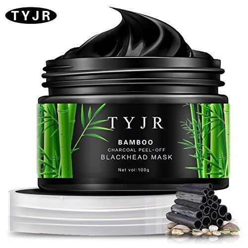 TYJR Vena Beauty High Density Blackhead Remover Black Mask Cleaner Purifying Deep Cleansing Blackhead Black Mud Face Mask Peel-off 100ml
