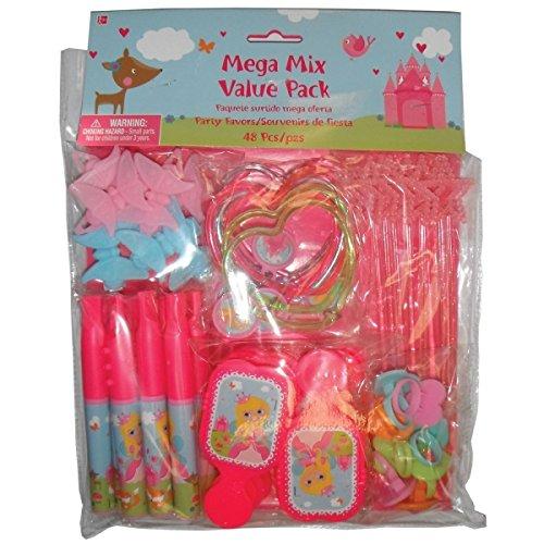 Amscan 397259Woodland Princess Mega Mix Value Pack (Mega Pack Value)