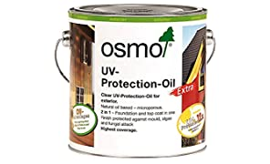 Osmo UV Protection Oil Extra 420 Clear Satin 2.5 Liters