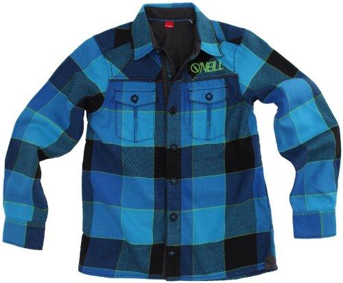 O'neill Hayes Shirt - Camicia di flanella a quadretti, da ragazzo, Blu (Blu), 128