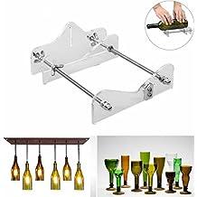 SODIAL Glass Cutter Tool Professional para botellas de corte de vidrio Bottle-Cutter Herramientas de