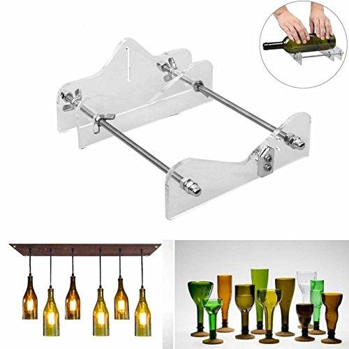 TOOGOO Glasflasche Schneidewekzeug professional fuer Flaschen Schneiden Glasflasch Schneider DIY Schneidewekzeuge Maschine Wein Bierflasche