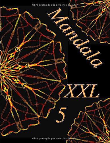 Mandala XXL 5: libro para colorear para adultos