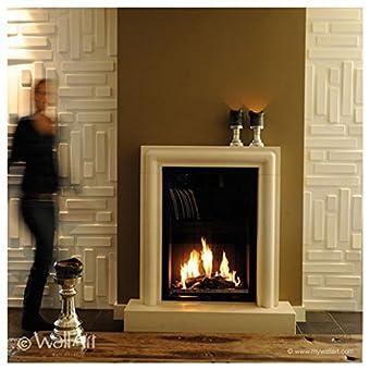 Wall Decor–Paneles 3d Wallart Bricks Dal design moderno Ed accattivante unidades de m².3