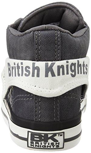 British Knights ROCO HOMMES HAUT-DESSUS SNEAKER NOIR/BLANC