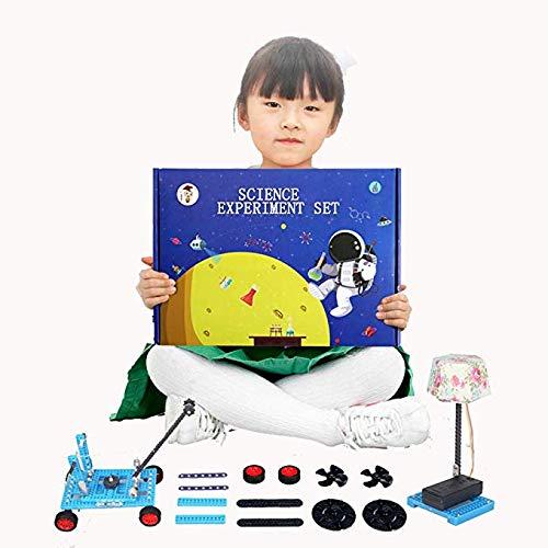 Hmwxbs Wissenschaft Bildungsprojekt Kit Für Kinder 6-10, DIY STEM Spielzeug Für Kinder, Luftfederung, Akustisches Photoelektronen Experiment Für Jungen Und Mädchen