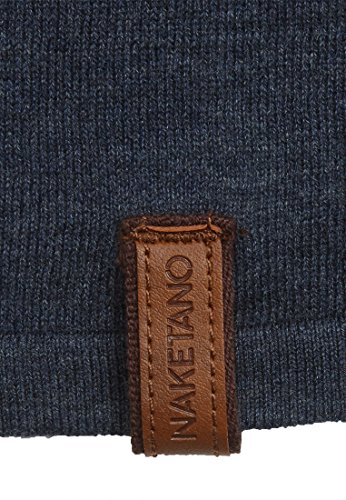 Naketano Female Knit Alle wollen bumsen Bluegrey Melange