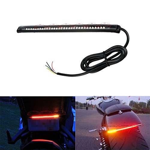 autosun 32-smd red led bar for bike brake tail light & left/right turn signal lamp for royal enfield classic 350 AutoSun 32-SMD Red LED Bar For Bike Brake Tail Light & Left/Right Turn Signal Lamp For Royal Enfield Classic 350 51rMlIS2QkL