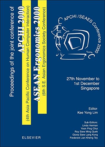 Proceedings of the 4th Asia Pacific Conference on Computer Human Interaction (APCHI 2000) and 6th S.E. Asian Ergonomics Society Conference (ASEAN Ergonomics 2000)