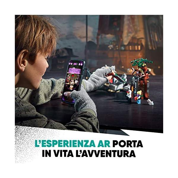 LEGO - Hidden Side Mistero nel Cimitero Set di Costruzione, Set per la Realtà Aumentata per iPhone/Android, 70420 2 spesavip