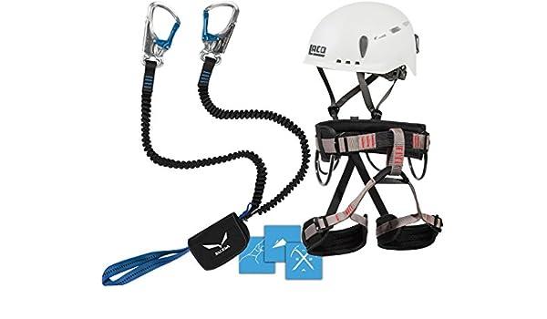 Klettersteig Set Gurt : Klettersteigset salewa premium attac lacd gurt start helm