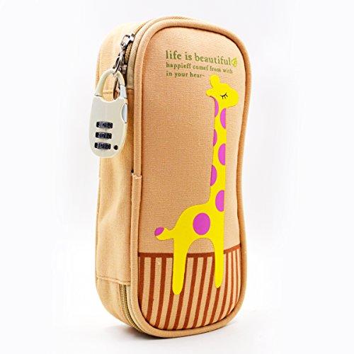 LA HAUTE New Adorable Animal Pencil Case