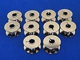 10 SEWING MACHINE BOBBINS WILL FIT BERNINA 185, 200, 1630, 180 MACHINES
