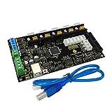 KEYESTUDIO MKS Gen 1.4 imprimante 3D Carte contrôleur/Rampes 1.4 + Mega 2560 pour Arduino MEGA2560 R3 (Noir & Environmental-Protection)