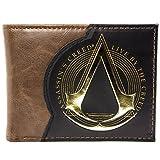 Assassins Creed Live By The Creed Marrone portafoglio immagine