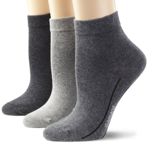 Camano Unisex - Erwachsene Socken 3-er Pack,3023, Grau (grey combination 49), 43/46 -