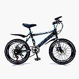 Bicicleta Para Niños,Bicicleta De Montaña De 16-18-20 Pulgadas Freno De Disco Bicicleta Para Niños De Una Sola Velocidad