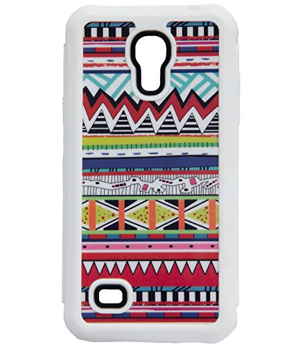iCandy™ Rubber Printed Matte Soft Back Cover for Samsung Galaxy S4 Mini I9190 - RAJASHTHANI