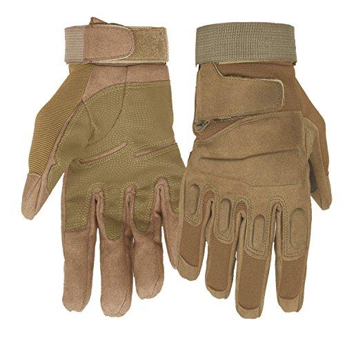 Mimicool Guantes aire libre hombres llenos dedo guantes