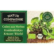 Natur Compagnie Bouillon Thym Basilic 8 Cubes Bio