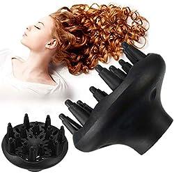 TONGXU Diffuseur de sèche-Cheveux Universel Noir