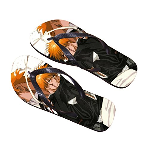 Bromeo Bleach Anime Unisex Flip Flops Zehentrenner Flip Pantoffeln 276
