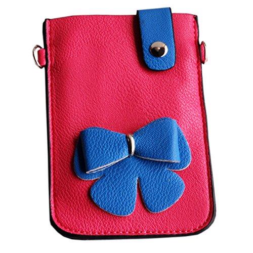 [Secret de cerise] coloré en similicuir pour téléphone portable téléphone portable Coque Embrayage Pochette