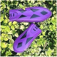 LridSu Bicicleta para niños Ampliable Trasero Delante Guardabarros Guardabarros Bicicleta de montaña (púrpura)