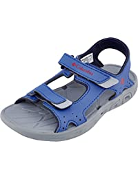Sorel Childrens Techsun Vent, Zapatillas Impermeables Unisex niños, Azul (Stormy Blue, Mountain Red 426), 30 EU