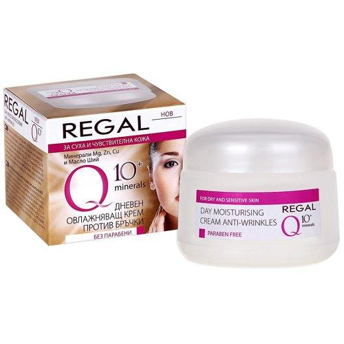 Regal Q10 PlusFeuchtigkeitsspendende Creme, Tagescreme, Anti-Falten, mit Mineralien, für...