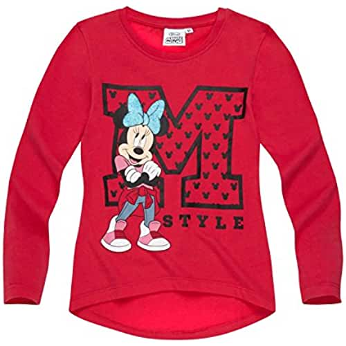 Disney Minnie Chicas Camiseta mangas largas 2016 Collection - fucsia