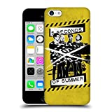 Head Case Designs Offizielle 5 Seconds of Summer Gegurted Gelb Gruppenbild Derp Ruckseite Hülle für Apple iPhone 5c