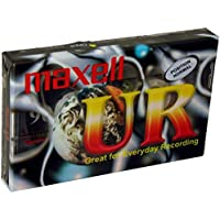 Maxell Audio Cassette 90Min, Normal (1-Pack) 90 Ur
