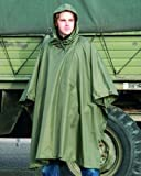 AOS-Outdoor Army Rip Stop Regenponcho Poncho Oliv