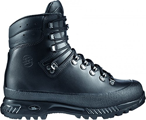 Hanwag Yukon, Chaussures de Trekking et Randonn&Eacutee Homme, Marron, UK9 Black - Schwarz