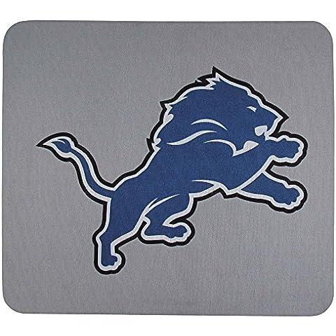 NFL Detroit Lions Detroit Lions Mouse Pads, 8, Gray by Siskiyou