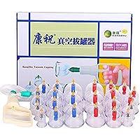 Kays Schröpfen Set 24 Vakuum-Luft-Saugnäpfe Mit Pump-Griff, Chinesische Schröpfen Therapie-Set, Für Rücken/Nackenschmerzen... preisvergleich bei billige-tabletten.eu