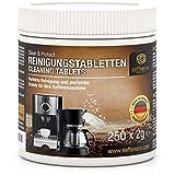 Kaffeeano rengöringstabletter för helautomater och kaffemaskiner Clean&Protect. Rengöringsstav kompatibel med Jura, Siemens, Krups, Bosch, Miele, Melitta, WMF med mera. 1 Dose - 250 Stück