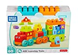 Mega Bloks DXH35 Building Basics ABC Learning Train