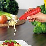 infactory Gabel: Automatische Spaghettigabel mit genialer Aufroll-Technik (Elektrische Spaghettigabel) Bild 1