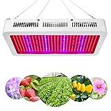 XJLED 600W LED grow light LED Pflanzenleuchte Full Specreum SMD LED Pflanzenlampe Pflanzen Wachstumslampe Pflanzenlicht Wuchslampen Innengarten Pflanze wachsen Licht Hängeleuchte(600W)