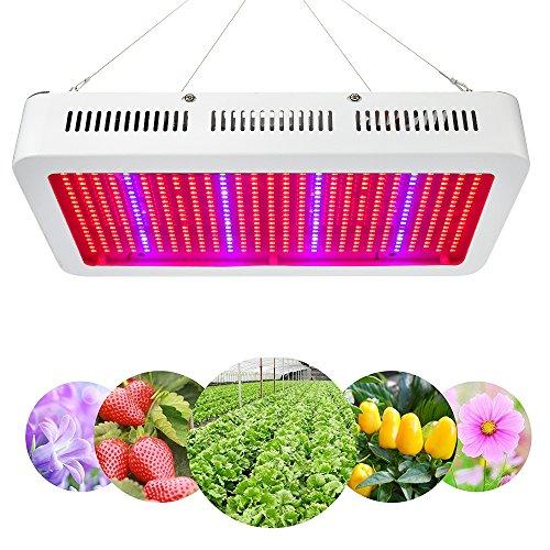 250w Grow Light (XJLED 600W LED grow light LED Pflanzenleuchte Full Specreum SMD LED Pflanzenlampe Pflanzen Wachstumslampe Pflanzenlicht Wuchslampen Innengarten Pflanze wachsen Licht Hängeleuchte(600W))