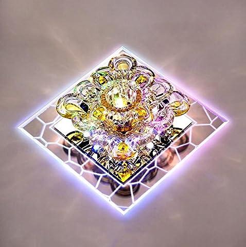 FYN® Ceiling light Square led crystal lamp Spotlight Aisle lights