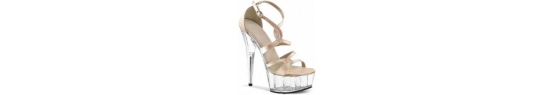 GTVERNH- Crystal Seguida Sandalias 15Cm De Alto Con Zapatos Desglosadas Por Esa Etapa Zapatos De Odio Día Alto... -