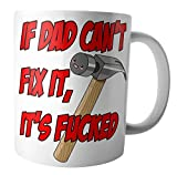 Best Father's Day Gifts For The Sporting Dads - AK Giftshop Tea Coffee Mug - Funny Rude Review