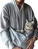 Rolansica Frauen Pullover Hoodie Sweatshirt mit Tasche Kangaroo Hoodie Carrier für Kleine Katze Hunde