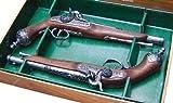 Denix Replica 2er Set Duellpistolen mit Perkussionsmechanismus Duell Pistole