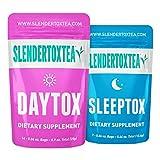 Slendertoxtea 14 Day Teatox: Colon Cleanse & Herbal Detox Tea (No Loose Leaf)