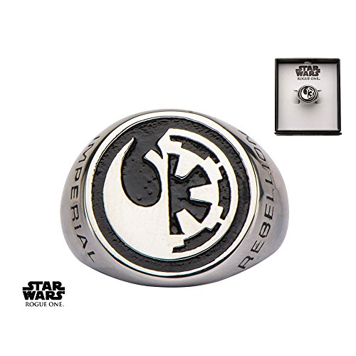 Star Wars Rogue One Ring Rebel Alliancegalactic Empire Symbol Size